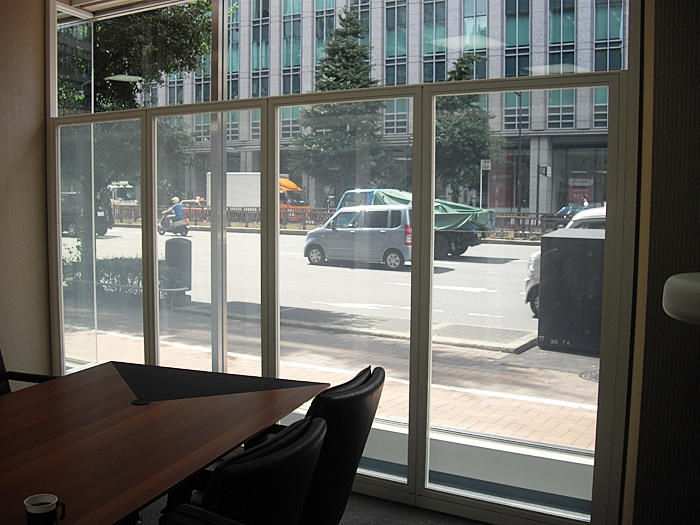 Privacy Glass Polymer Dispersed Liquid Crystal Laminated